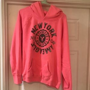 American Eagle Hoodie XXL Neon with glitter